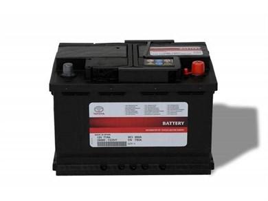 Аккумулятор TOYOTA 77Ah EN780A - фото 4482