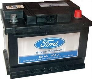 Ford 52Ah 500A EN - фото 4986