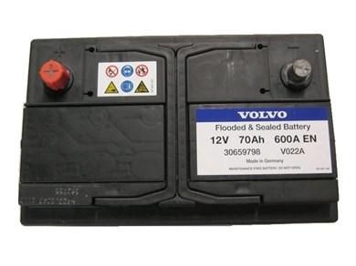 VOLVO 70Ah 600A EN - фото 5010