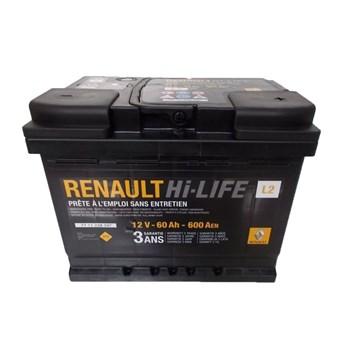 Renault Hi-LIFE 12V 60Ah 600A - фото 5119