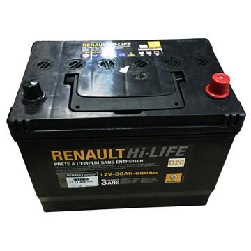 Renault  Hi-LIFE 12V 80Ah 680A - фото 5123