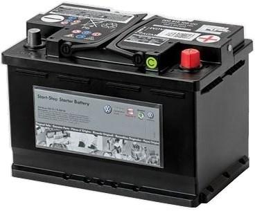Аккумулятор VAG 68Ah 680A AGM - фото 5132
