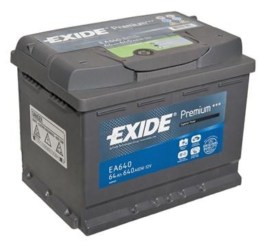EXIDE Premium EA640 - 64Ah 640A - фото 5205