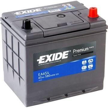 EXIDE Premium EA654 - 65Ah 580A - фото 5206