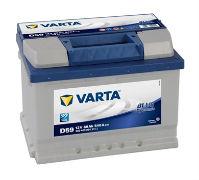 VARTA Blue Dynamic D59 - 60Ah 540A - фото 5208