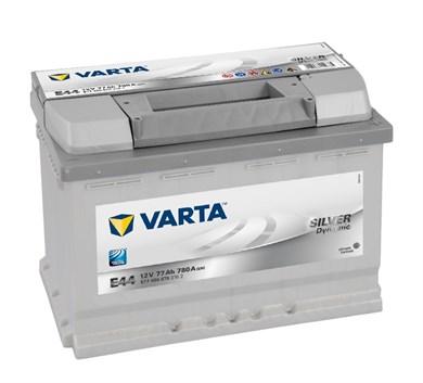 Аккумулятор VARTA Silver Dynamic E44 - 77Ah 780A - фото 5209