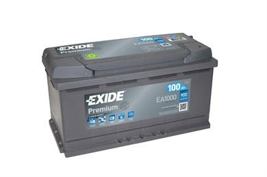 EXIDE Premium EA1000 - 100Ah 900A - фото 5210