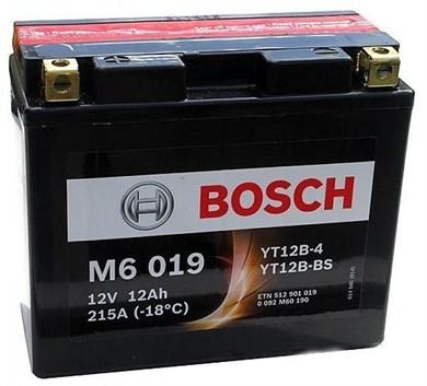 BOSCH M6 019 Moto 12Ah 215A - фото 5216