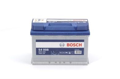 BOSCH S4 008 Silver 74Ah 680A - фото 5276