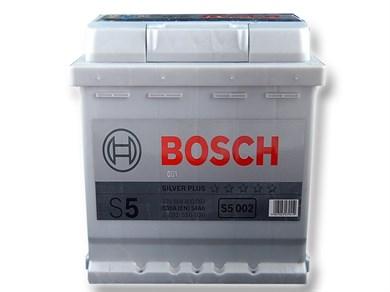 BOSCH S5 002 Silver Plus 54Ah 530A - фото 5322