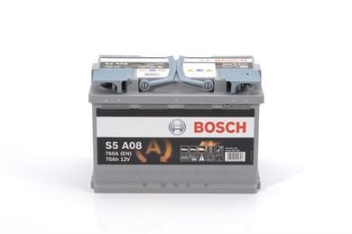 BOSCH S5 A08 AGM 70Ah 760A - фото 5344