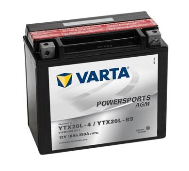 VARTA AGM - 18Ah 250A (YTX20L-4/YTX20L-BS) - фото 5366