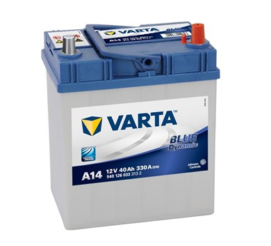 VARTA Blue Dynamic A14 - 40Ah 330A - фото 5369