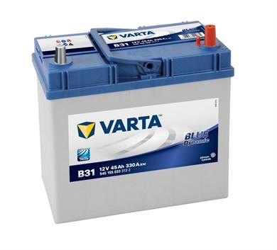 VARTA Blue Dynamic B31 - 45Ah 330A - фото 5371