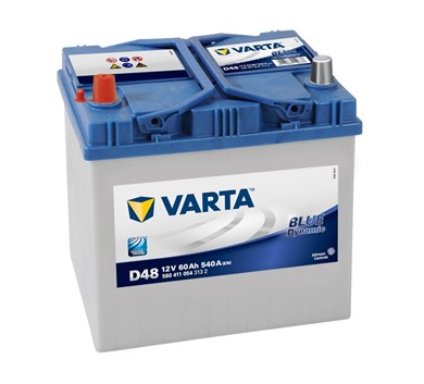 VARTA Blue Dynamic D48 - 60Ah 540A - фото 5375