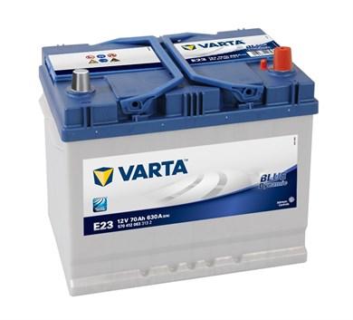 VARTA Blue Dynamic E23 - 70Ah 630A - фото 5378