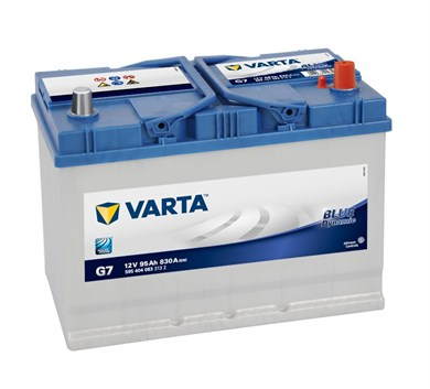 Аккумулятор VARTA Blue Dynamic G7 - 95Ah 830A - фото 5383