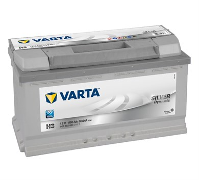 VARTA Silver Dynamic H3 - 100Ah 830A - фото 5386