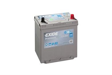 EXIDE Premium EA386 - 38Ah 300A - фото 5389