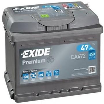 EXIDE Premium EA472 - 47Ah 450A - фото 5393