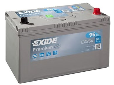 EXIDE Premium EA954 - 95Ah 800A - фото 5406