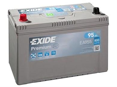 EXIDE Premium EA955 - 95Ah 800A - фото 5408