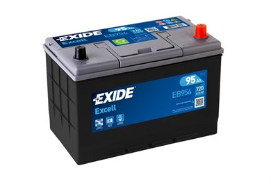 EXIDE Excell EB954 - 95Ah 720A - фото 5432
