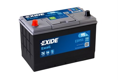 EXIDE Excell EB955 - 95Ah 720A - фото 5434