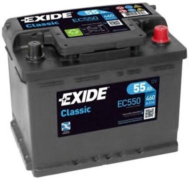 EXIDE Classic EC550 - 55Ah 460A - фото 5436