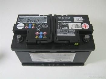 Аккумулятор VAG 75Ah 760A EN - фото 5454