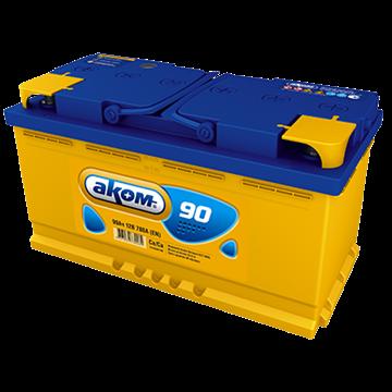 АКОМ - 90Ач 780А (Прямая полярность) - фото 5580