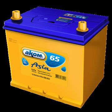 Аккумулятор АКОМ 65Ач 570А (Обратная полярность) - фото 5583