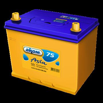 Аккумулятор АКОМ 75Ач 630А (Обратная полярность) - фото 5584