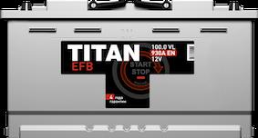 TITAN EFB 100 Ач 930 А R+ - фото 5683