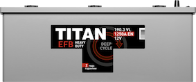TITAN EFB 6СТ-190.3 L - фото 5685