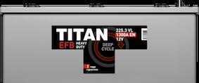 Аккумулятор TITAN EFB 6СТ-225.3 L - фото 5686