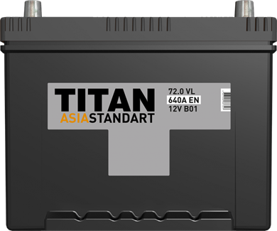 TITAN ASIA STANDART 72.0 VL 640A EN - фото 5710