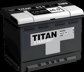 Аккумулятор TITAN STANDART 60.0 L 540A EN - фото 5731