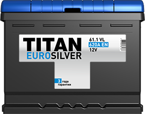 TITAN EURO SILVER 61.1 VL 620A EN - фото 5749