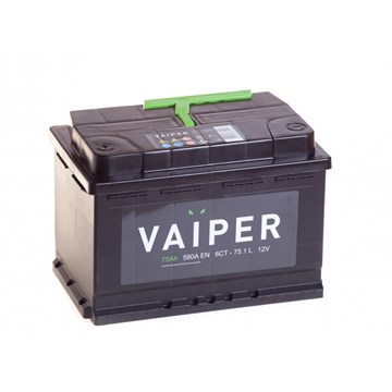 VAIPER 75 Ач 580 А (75.1 L) - фото 5899