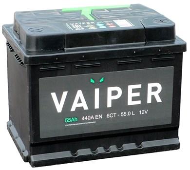 VAIPER 55 Ач 440 А (55.0 L) - фото 5903
