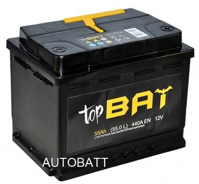 Аккумулятор TOPBAT 55 Ач 440 А (55.0 L) - фото 5920