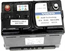 VOLVO 70Ah 760A EN AGM Старт-Стоп