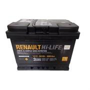 Renault Hi-LIFE 12V 60Ah 600A