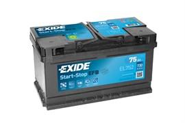 EXIDE Start-Stop EFB EL752 - 75Ah 730A
