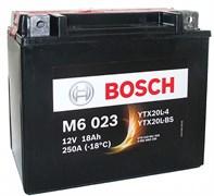 BOSCH M6 023 Moto 18Ah 250A