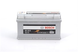 BOSCH S5 013 Silver Plus 100Ah 830A