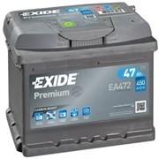 EXIDE Premium EA472 - 47Ah 450A