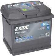 EXIDE Premium EA530 - 53Ah 540A