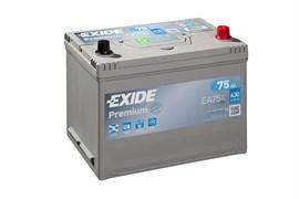 EXIDE Premium EA754 - 75Ah 630A